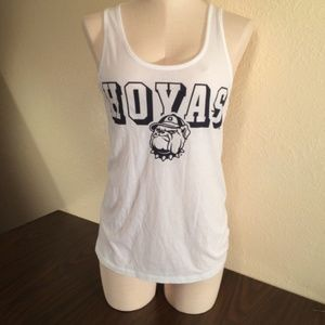 Victoria's Secret PINK Georgetown Hoyas Tank Top